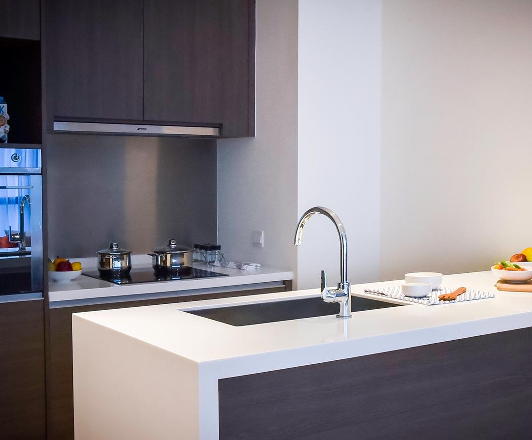 2 Bedroom, Type D Kitchen