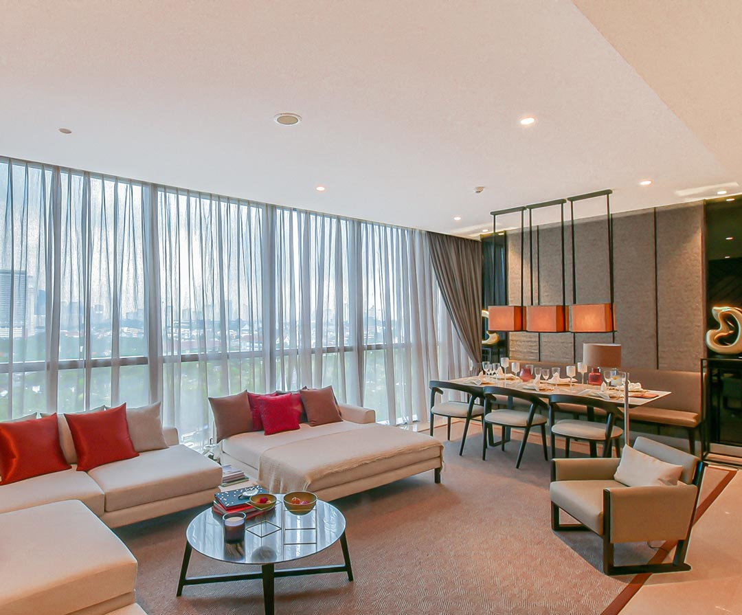 2 Bedroom, Type D Living & Dining Room
