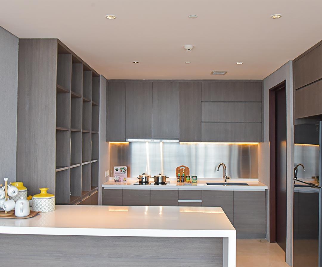 3 Bedroom, Type A & C Kitchen