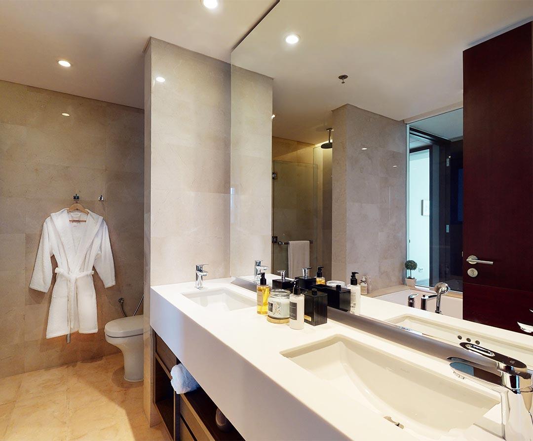3 Bedroom, Type A & C Bathrooms