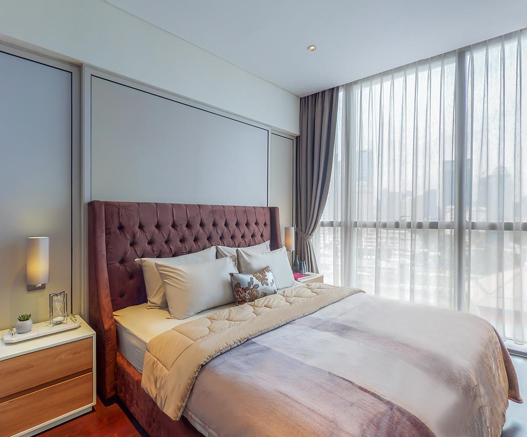 3 Bedroom, Type C Balcony Bedrooms